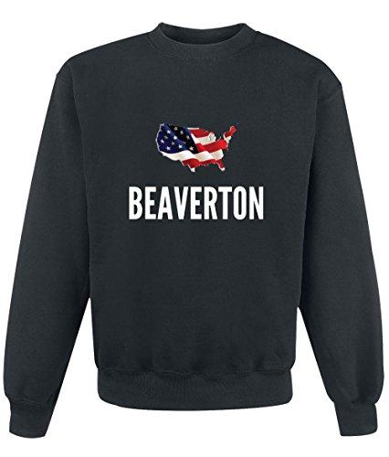 Felpa Beaverton city Black