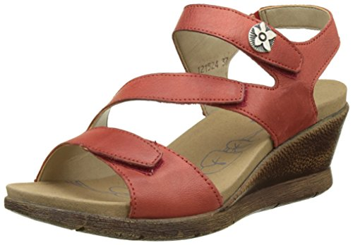 ROMIKA Nevis 07, Sandales Bride Arriere Femme Rouge (Rot)
