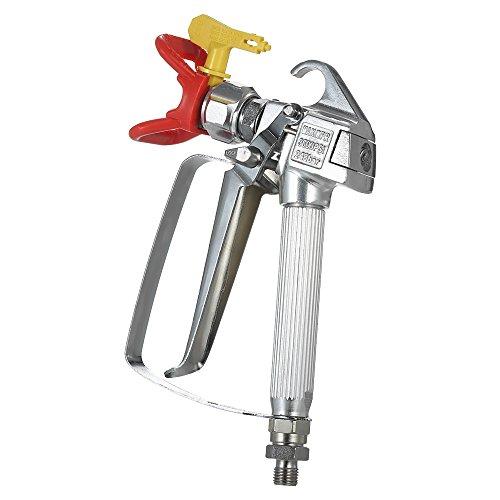 KKmoon 3600 PSI Hochdruck Airless Spritzpistole Lackierpistole Aluminium Sprühpistole mit 517 Spray Düse Sitzgitter für Airless Spritzgerät (Wagner Hvlp)