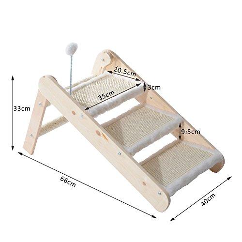 pawhut tiertreppe katzentreppe hundetreppe treppe f r. Black Bedroom Furniture Sets. Home Design Ideas