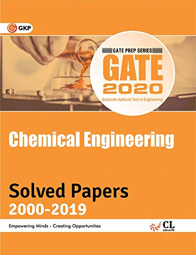 GATE 2020 - 20 Years' Solved Papers (2000-2019) - Chemical Engineering