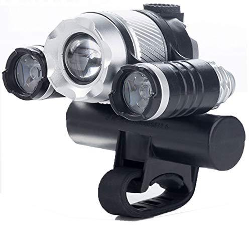 Fahrrad Scheinwerfer USB Induktion Zoom T6 Blendung Lade Led Scheinwerfer wasserdichte Außenbeleuchtung