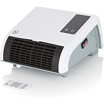 Electric Ip24 Eco Slim Bathroom Wall Fan Heater With Touch