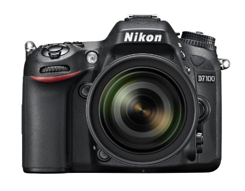 Nikon D7100 24.1MP Digital SLR Camera  Black  with Nikkor AF S DX 16 85mm Lens, 4 GB card, Camera bag