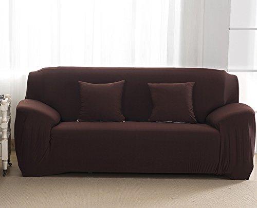 FIOLTY Sofa für Lig Zimmer Moderner Sofa-Abdeckung elastischer Polyester Sofa Abdeckung Möbel-Schutz Polyester Love Seat Couch Cover: 014, Dreisitzer