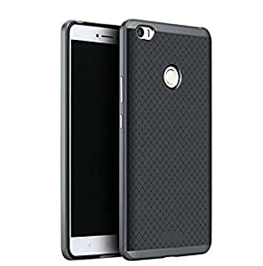 Premium High Quality Ultra-Thin Dotted Case Cover for Xiaomi Mi Max - Black
