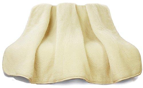 Schafwolldecke Kuscheldecke aus ökologischer Schurwolle Schafwolle 140x200