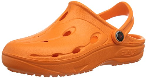 Chung Shi DUX KIDS Unisex - Kinder Pantoletten, Orange, 22/23 EU, 890009O (Kids Orange Schuhe)