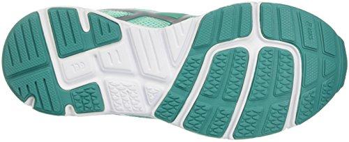 Asics Kinder-Unisex Gel-Zaraca 5 Gs Gymnastik Verde (Cockatoo/Silver/White)
