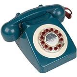 Wild & Wolf Vintage Phone, 746 Petrol Blue Telephone