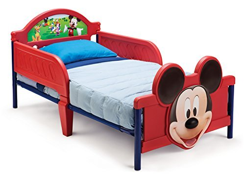 Disney Mickey Mouse 3D Toddler Bed by Delta Children