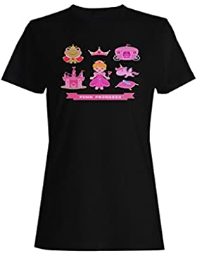 Nueva princesa divertida del unicornio buena inspire camiseta de las mujeres d140f