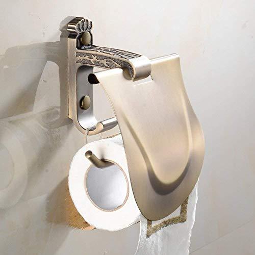 Montado en la Pared Dispensador de Papel Sanitario/enrollador de Rollos/Papel higiénico Caja D para Cocina o baño