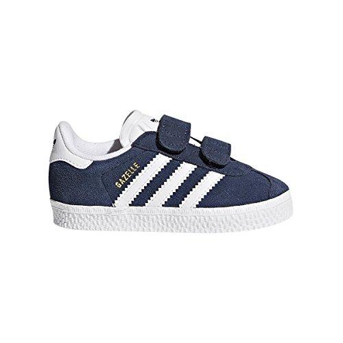Adidas Gazelle I, Zapatillas de Estar Por Casa Bebé Unisex, Gris (Grpudg/Ftwbla/Dormet), 27 EU