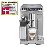 De'Longhi PrimaDonna S Evo ECAM 510.55.M – Kaffeevollautomat mit integriertem Milchsystem, LC-Display & App-Steuerung, automatische Reinigung, 35 x 23,8 x 47 cm, silber