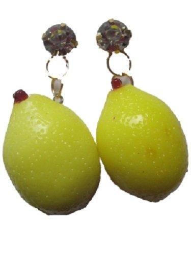 1-paar-ohrringe-ohrstecker-stecker-zitrone-zitrus-frucht-stra-strastein-obst