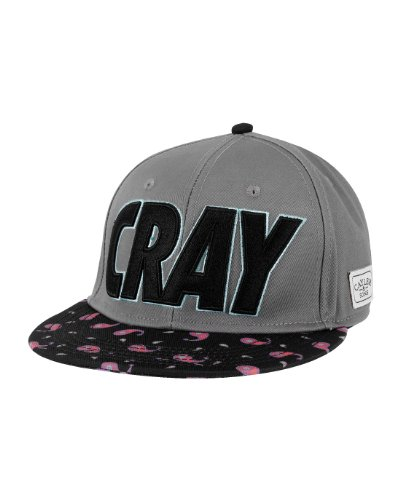 Cayler And Sons - Casquette Snapback Homme Cray Cap - Dark Grey/Black Paisley MC