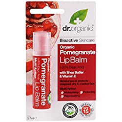 Dr. Organic Pomegranate Lip Balm - Balsamo Labbra 5,7 ml, 1 pezzo