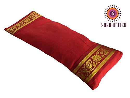 Yoga United-Almohada Relajante para los Ojos Rojo