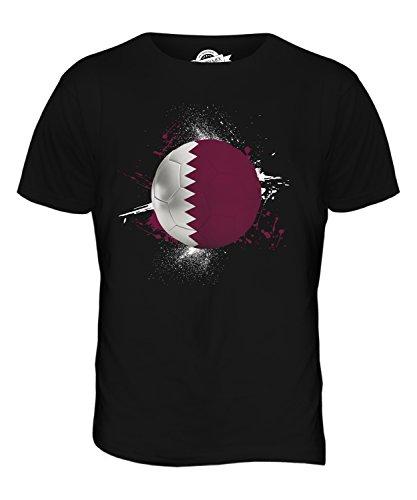 CandyMix Katar Fußball Herren T Shirt Schwarz