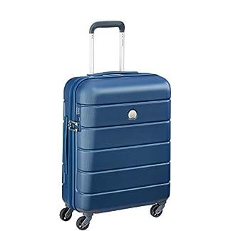 Delsey Paris Lagos Equipaje de Mano, 55 cm, 44 Liters, Azul (Blau)
