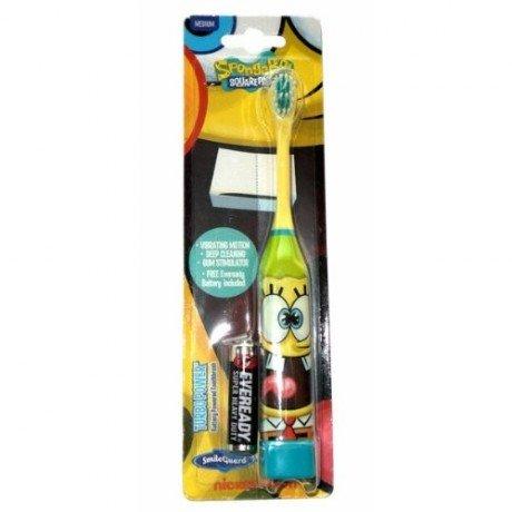 spongebob-battery-powered-toothbrush