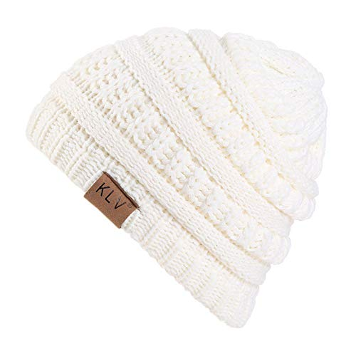 Nwarmsouth Mit Wolle gefütterte Beanie-Mütze Skimütze, Kinder-Wollstrickmütze, warme Outdoor-Mütze, Baggy-Mütze, Winter-Sommer-Mütze
