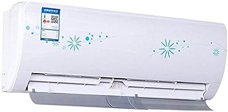 Crewell Deflettore per aria condizionata anti-diretto che soffia estensibile e regolabile,bianca,58-115cm