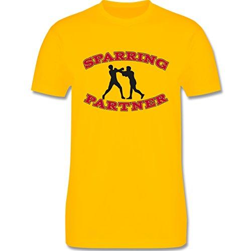 Kampfsport - Boxer - Herren Premium T-Shirt Gelb