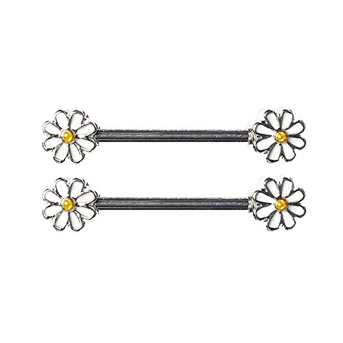 bodya-pair-cute-double-enamel-spring-daisy-flower-nipple-barbell-ring-piercing-bar-stainless-steel-1