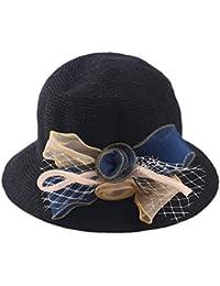 Gysad Arco Sombrero de Paja Dulce Sombrero de Pescador Elegante Sombrero  Mujer Gorras 5ebd34f7074