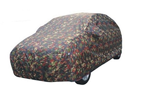 JBB-Double Stitched Military Man Car Body Cover for New Maruti Swift Dzire - (With Side Mirror Pocket)  available at amazon for Rs.1782