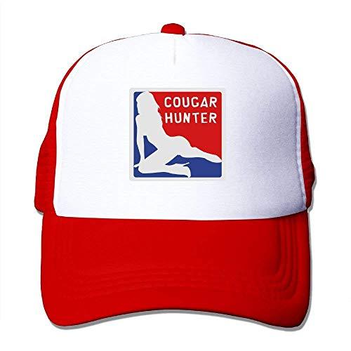 DIMAA Cougar Hunter 1-vec Big Foam Snapback Hats Mesh Back Adjustable Cap -
