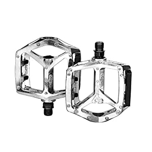 Aluminium Bike Pedals Antiskid Cycling Bicycle Pedals Fit Most Adult Mountain Road and Folding Bike