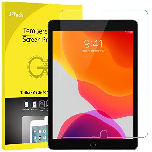 JETech Schutzfolie für iPad 7 (10,2 Zoll, Modell 2019, 7. Generation), Panzerglas Displayschutzfolie