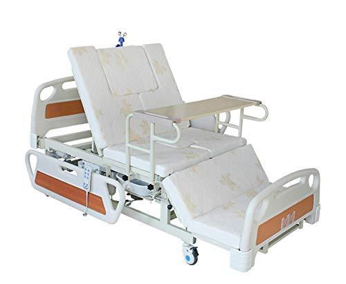 Multifunktionale Elektrische Manuelle Rotierende Krankenhaus Pflegebett Mit ABS-Bettkopf, Gute Qualität Verstellbare Krankenhausbetten Für Zu Hause