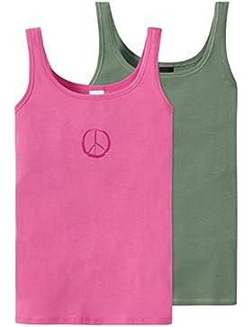Schiesser Mädchen Unterhemd 2er Pack