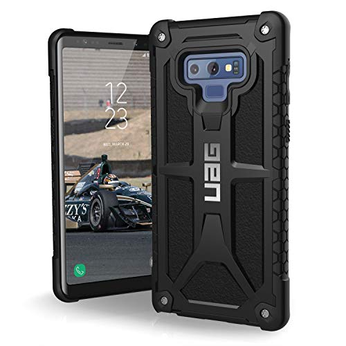 UAG Samsung Galaxy Note 9 Monarch Feather-Light Rugged [BLACK] Military Drop Tested Phone Case