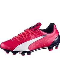 Puma - Botas de fútbol de Material Sintético para hombre rosa ...