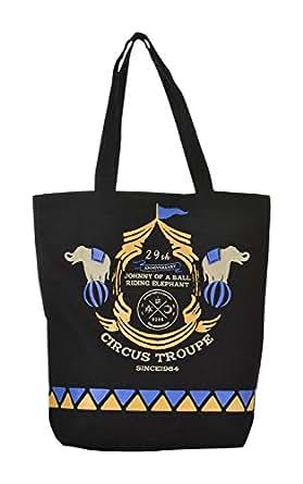 Lustre Crafts Tote Bag (Black)