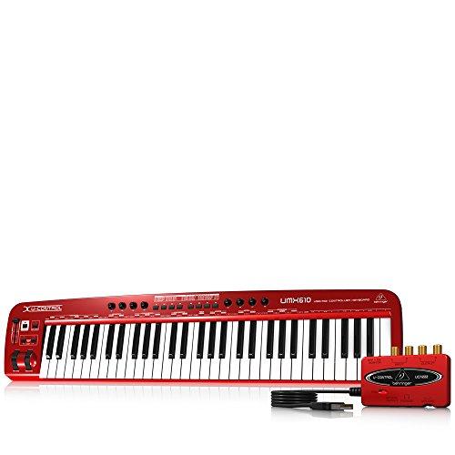 Ios Behringer (Behringer U-Control UMX610 61-Tasten USB/MIDI Controller Keyboard inkl. Behringer UCA222 Audio Interface)