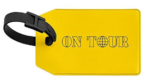 feranhänger VELOCOLOR Taschenanhänger Gepäckanhänger, mit Adressschild, 70 x 110 mm, gelb ()