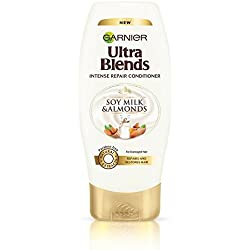Garnier Ultra Blends Soy Milk and Almonds Conditioner, 175ml