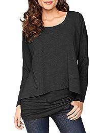 großer Rabatt Qualitätsprodukte online zum Verkauf Suchergebnis auf Amazon.de für: lagen shirt - Damen: Bekleidung