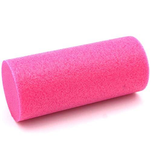 FluffyRoll Weich Mini Faszienrolle - das Original. Die kleine rosa Selbstmassage-Rolle + Anleitung