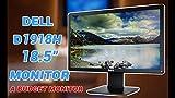 (Renewed) Dell 18.5 inch (47 cm) LED Monitor - HD Ready, TN Panel with VGA, HDMI Ports - D1918H (Black)