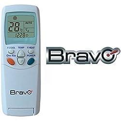 Mando a distancia universal para aire acondicionado Bravo, compatible con las principales marcas del mercado