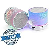 #9: (Top Selling) Latest Note 4 Certified Proven No. 1 all Smartphones Compatible Special Edition Extra High Quality Next Generation Smart Gadget Wireless LED Bluetooth Speakers S10 Handsfree with FM TF Card And LED Lights (Colour Pattern May Vary)