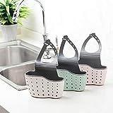 WopenJucy Kreativ Waschbecken hängende Tasche Küche Regal Wasserhahn Waschbecken Lagerung hängenden Korb-zufällige Farbe