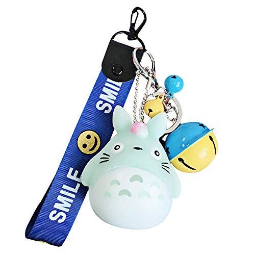 Haushele OFD Niedliche Chinchilla Puppe Keychain Tasche hängende Auto Geschenk Anhänger Schlüsselanhänger( H02) (Chinchilla Tasche)